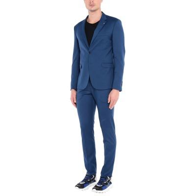 タケシ クロサワ TAKESHY KUROSAWA スーツ ブルー 48 ポリエステル 90% / レーヨン 8% / ポリウレタン 2% スーツ