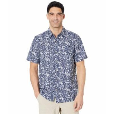 コロンビア メンズ シャツ トップス Super Slack Tide¢ Camp Shirt Collegiate Navy