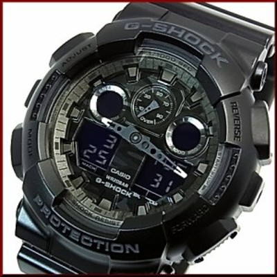 カシオ/G-SHOCK【CASIO/Gショック】カモフラージュダイアルシリーズ メンズ腕時計 ブラック(海外モデル)GA-100CF-1A