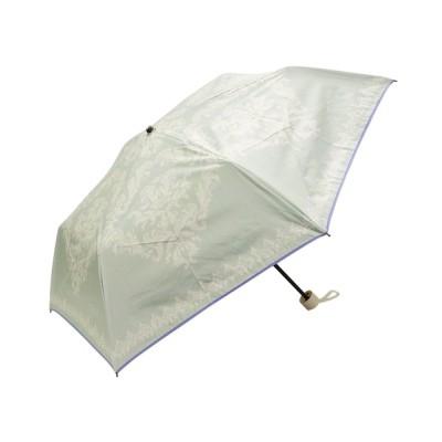 macocca / 完全遮光晴雨兼用 折りたたみ傘 ダマスク柄 WOMEN ファッション雑貨 > 折りたたみ傘
