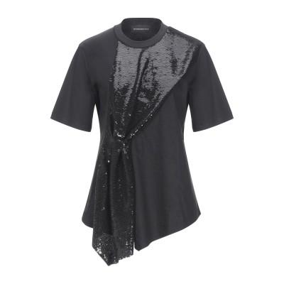 SPORTMAX CODE T シャツ ブラック M コットン 50% / レーヨン 50% / ポリエステル T シャツ