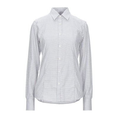 PURDEY シャツ ライトグレー 6 コットン 100% シャツ