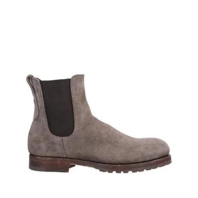 MEASPONTE ショートブーツ ファッション  メンズファッション  メンズシューズ、紳士靴  ブーツ  その他ブーツ ドーブグレー