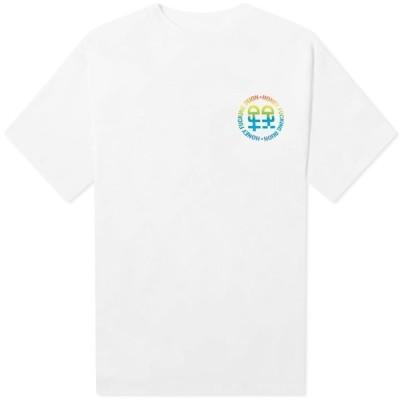 ハニー ファッキング ディジョン Honey Fucking Dijon メンズ Tシャツ ロゴTシャツ トップス Logo Tee White