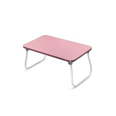 折りたたみテーブル (ピンク)
