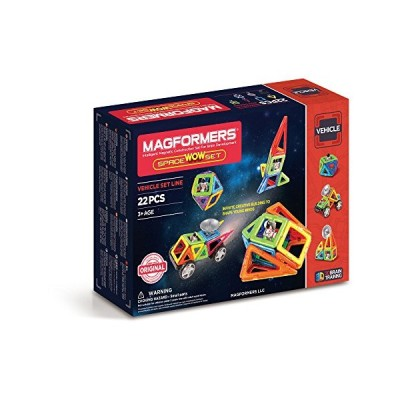 MAGFORMERS Space Wow セット (22 Piece)(海外取寄せ品)
