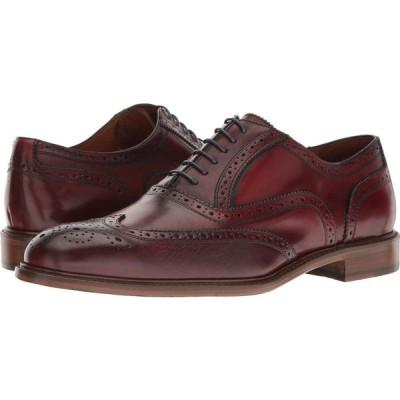マッテオ マッシモ Massimo Matteo メンズ 革靴・ビジネスシューズ ウイングチップ シューズ・靴 6-Eye Wing Tip Bordo