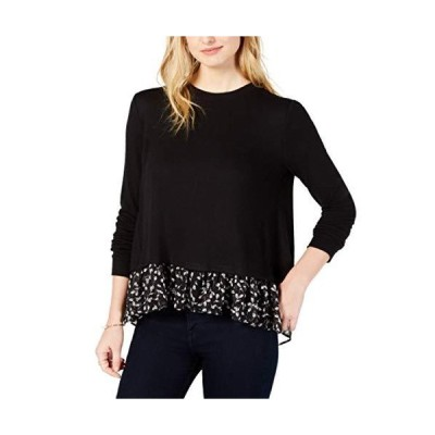 Maison Jules Layered-Look Sweater Black XL並行輸入品 送料無料