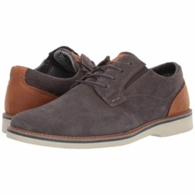 ナンブッシュ Nunn Bush メンズ 革靴・ビジネスシューズ シューズ・靴 Barklay Plain Toe Oxford Gray w/Light Sole