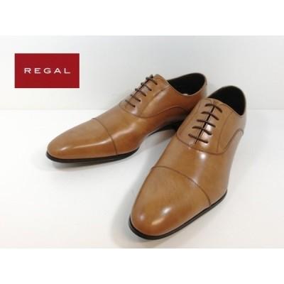 リーガル REGAL 靴 -200ブラウン ストレートチップ ビジネスシューズ メンズ 011R