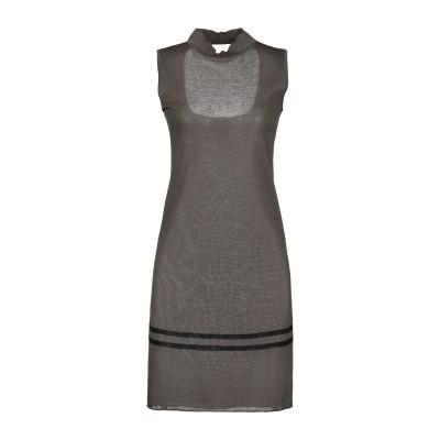BELLWOOD ミニワンピース&ドレス ミリタリーグリーン 42 マココットン 90% / ポリエステル 10% ミニワンピース&ドレス