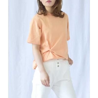 (ARGO TOKYO/アルゴトウキョウ)コットンTシャツ 24054/レディース オレンジ