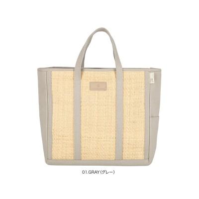 1827【カゴバッグ:A4サイズ収納】/ EU.ミディアム.コンビバスケット-A