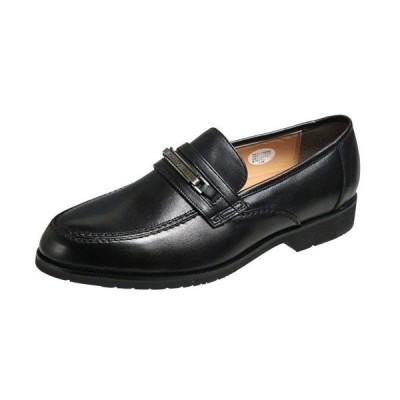 マドラスモデロビータ5650ブラック メンズシューズビット付Uチップスリッポン 紳士靴 ビジネスシューズ