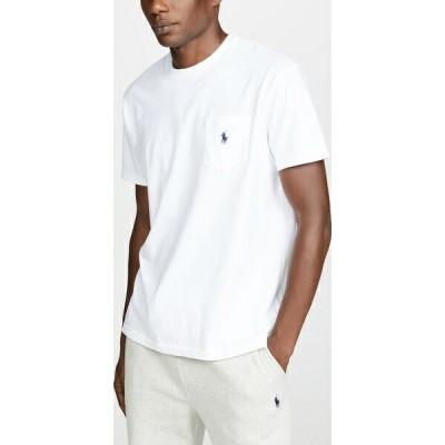 (取寄)ポロ ラルフローレン ポケット ティー シャツ Polo Ralph Lauren Pocket Tee Shirt White 送料無料