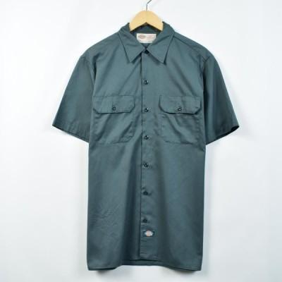ディッキーズ Dickies 半袖 ワークシャツ メンズL /eaa025590