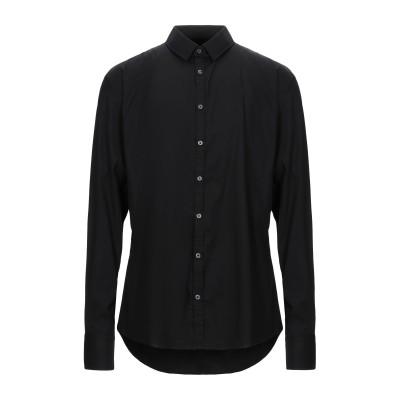ハマキホ HAMAKI-HO シャツ ブラック XXL コットン 72% / ナイロン 25% / ポリウレタン 3% シャツ