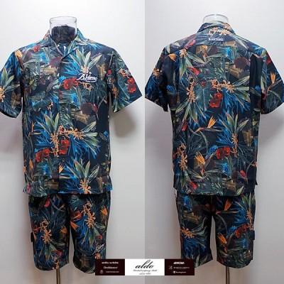 バーニヴァーノ・半袖オープンシャツ・ショートパンツ 上下(M) (L)19 春夏 SS 新作 BSS-ISH3273-69 BSS-IPH3298-69 BARNI VARNO (M) (L)