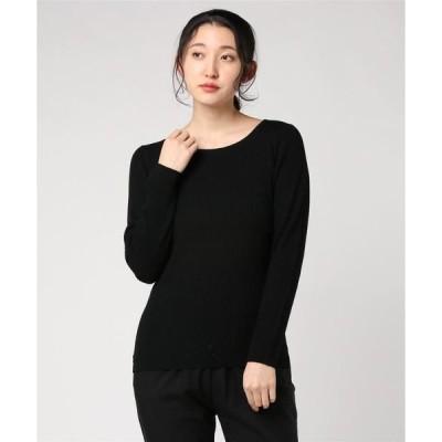 tシャツ Tシャツ Rib sweater l/s boat neck pull