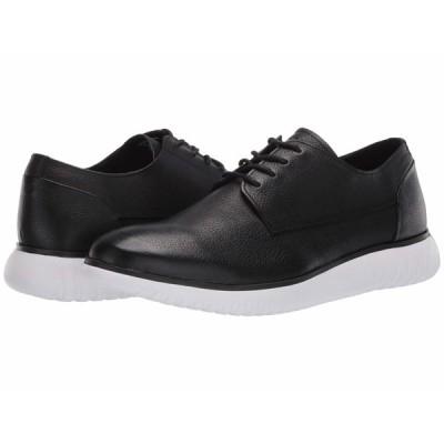 カルバンクライン オックスフォード シューズ メンズ Teodor Black/White/Soft Tumbled Leather