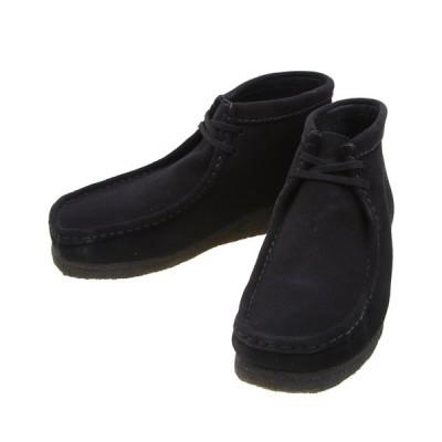Clarks / クラークス : WALLABEE BOOT -BLK SUEDE- : ワラビーブーツ ブーツ スウェード 靴 メンズ : 26133281