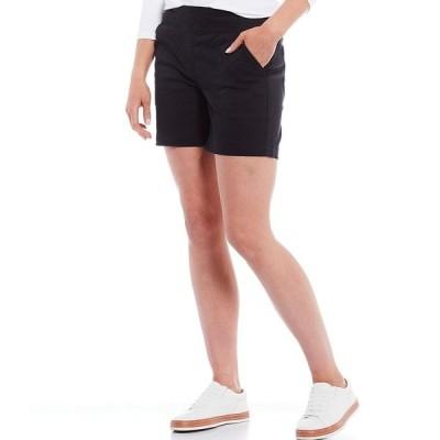 ウェストボンド レディース カジュアルパンツ ボトムス the PARK AVE fit Shorts Black