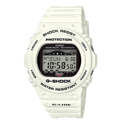 G-SHOCK Gショック ジーショック G-LIDE 2018年モデル カシオ CASIO デジタル 腕時計 電波 ソーラー タイドグラフ ホワイト GWX-5700CS-7JF  国内正規モデル