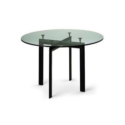 ル・コルビジェ LC6 デザイナーズダイニングテーブル 円形ミッドセンチュリーTEKNO社イタリア製ミッドセンチュリー家具MTT0006CL
