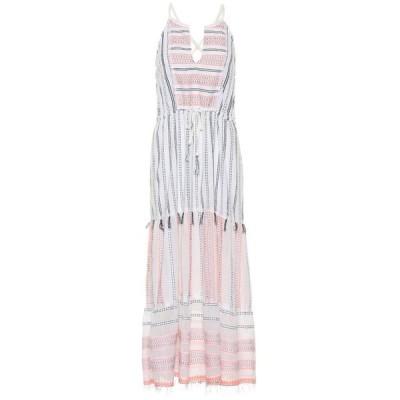 レムレム Lemlem レディース ワンピース ワンピース・ドレス Zenha cotton-blend midi dress LightCoral C1