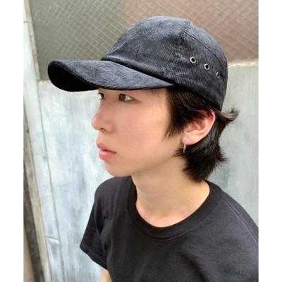 帽子 キャップ CURDUROY CAP/コーディロイ3ホール キャップ