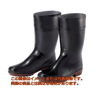 ミドリ安全 超耐滑長靴 ハイグリップ 25.5CM HG2000NBK25.5