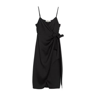 ダイアン フォン ファステンバーグ レディース ワンピース トップス Avila Sleeveless Wrap Midi Dress BLACK