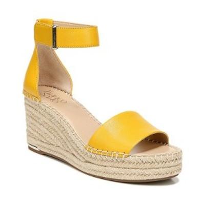 フランコサルト レディース サンダル シューズ Clemens Wedge Sandals Summer Yellow