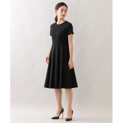 EPOCA/エポカ エアーフラノ ドレス ブラック1 38