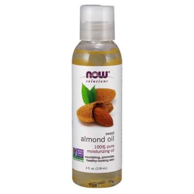 Now ナウ スイートアーモンドオイル 118ml(4oz) #7660 保湿 マッサージ / Sweet Almond Oil 100% Pure Moisturizing Oil