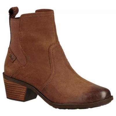 テバ Teva レディース ブーツ シューズ・靴 Anaya Waterproof Chelsea Boot Bison
