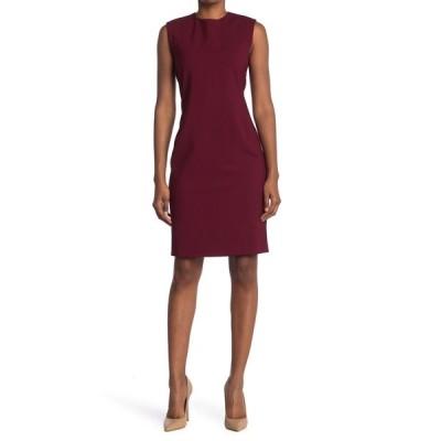 セオリー レディース ワンピース トップス Power Stretch Wool Blend Dress DP MULBERY