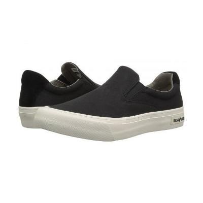 SeaVees シービーズ レディース 女性用 シューズ 靴 スニーカー 運動靴 Hawthorne Slip On Classic - Black