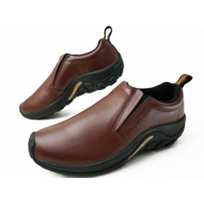 送料無料 メンズ ウォーキングシューズ スニーカー スリッポン メレル MERRELL J567117 ジャングルモック レザー 革靴 カジュアルシュー