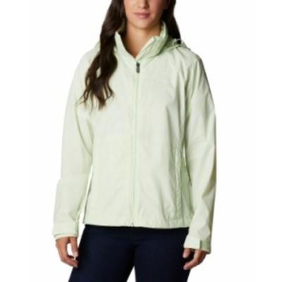 コロンビア レディース ジャケット・ブルゾン アウター Women's Switchback Waterproof Packable Rain Jacket Light Lime