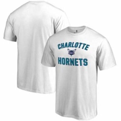 Fanatics Branded ファナティクス ブランド スポーツ用品  Charlotte Hornets White Victory Arch T-Shirt