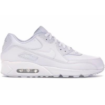 """ナイキ メンズ Nike Air Max 90 """"Triple White"""" スニーカー WHITE/WHITE-WHITE-WHITE エアマックス90"""