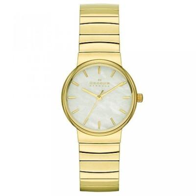 スカーゲン 腕時計 レディースウォッチ Skagen Women's SKW2199 Ancher Gold-Tone Stainless Steel Watch