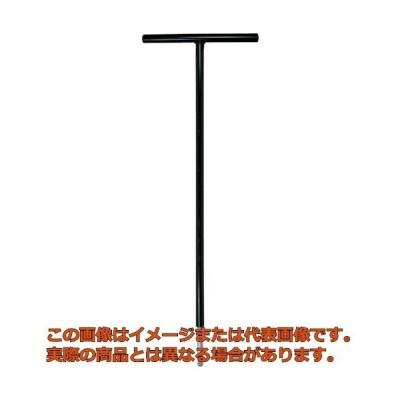エイト T型 六角棒スパナ テーパーヘッド 鉄ハンドル 首下500mm 単品 STT5004