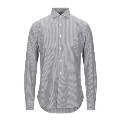 BORSA シャツ 鉛色 40 コットン 100% シャツ