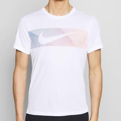ナイキ メンズ スポーツ用品 Print T-shirt - white/black