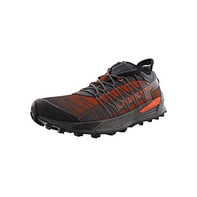 La Sportiva Men's Mutant Backcountry Trail Running Shoe, Carbon/Flame, 44 M