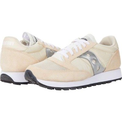 サッカニー Saucony Originals メンズ スニーカー シューズ・靴 Jazz Original Vintage Tan/White/Silver