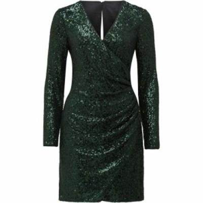 フォーエバーニュー Forever New レディース パーティードレス ミニ丈 ワンピース・ドレス Jessica Sequin Mini Dress Emerald Green