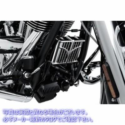 【取寄せ】  クリヤキン KURYAKYN 5640 Oil Cooler Cover - Chrome - Indian  07130130 ドラッグスペシャリティーズ 0